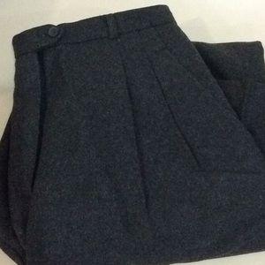 Rafaella Grey Woman's 16 Heavy Wool Dress Pants